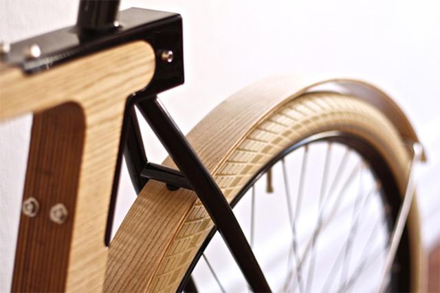 wood b le v lo de bois par bsg x thibaut malet x edelbikes. Black Bedroom Furniture Sets. Home Design Ideas