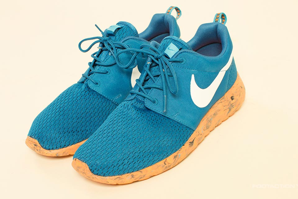 nike roshe run blue orange 02