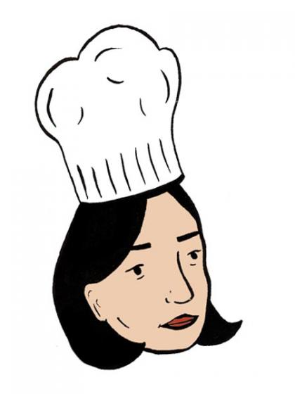 Caroline-Dowsette-bon-appetit-cover